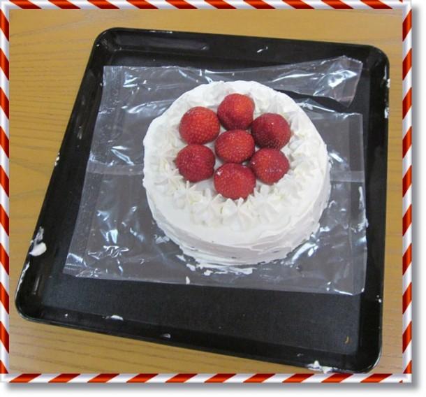 ケーキ完成!!