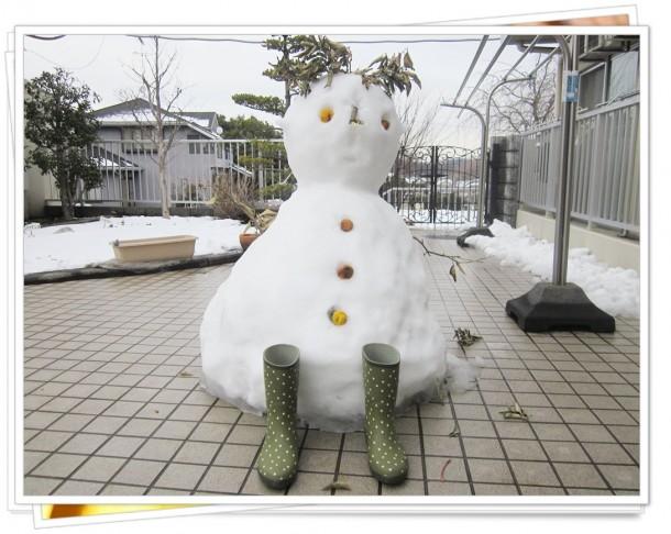 下小山田にも大雪が降りました