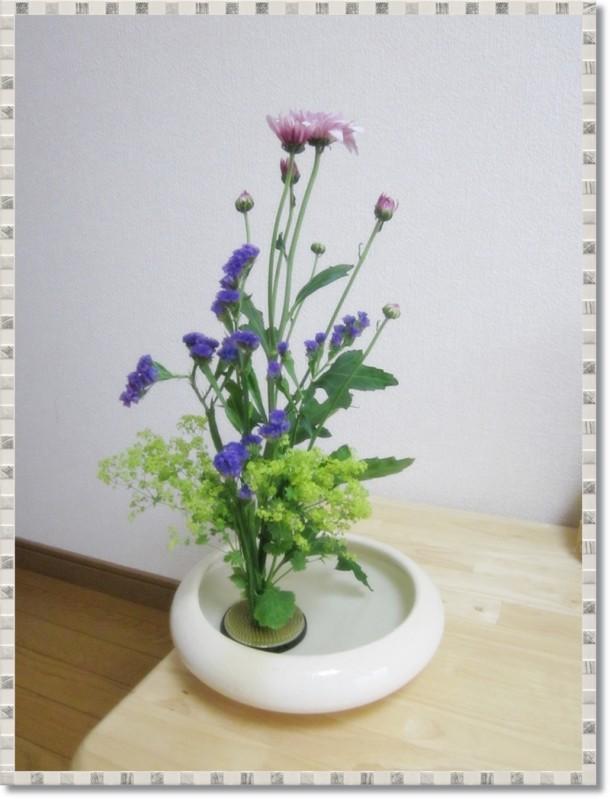 お花を生け