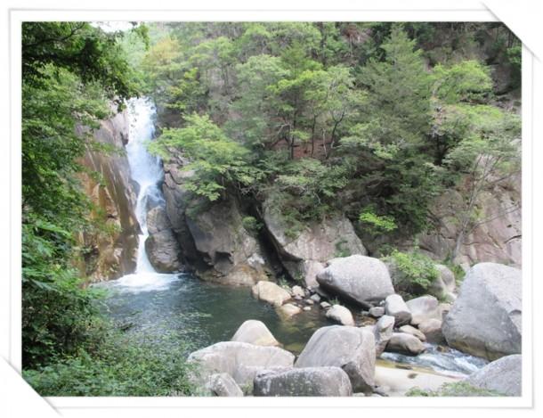 昇仙峡の仙蛾滝