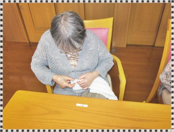 雑巾縫い大会