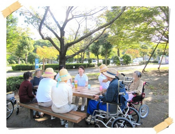 野津田公園で