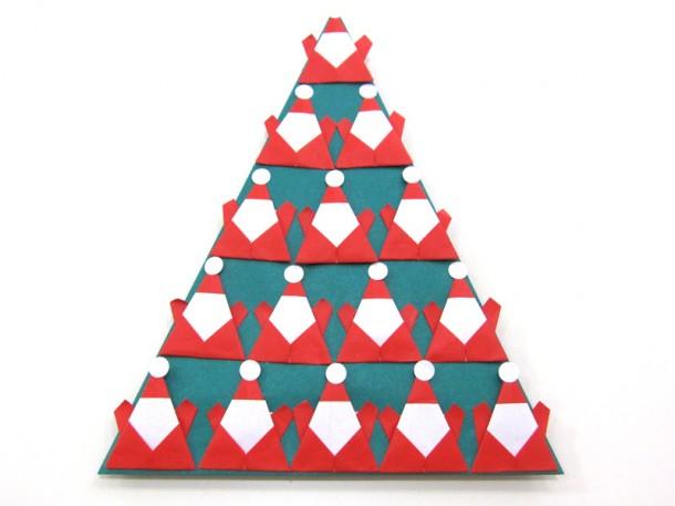 折紙講座 ~クリスマスツリー~