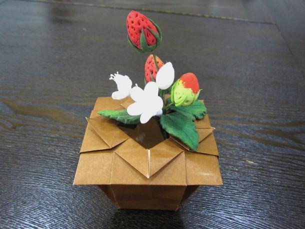 折り紙講座 ~壺