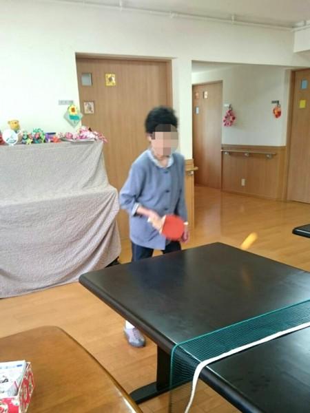 卓球がお好き