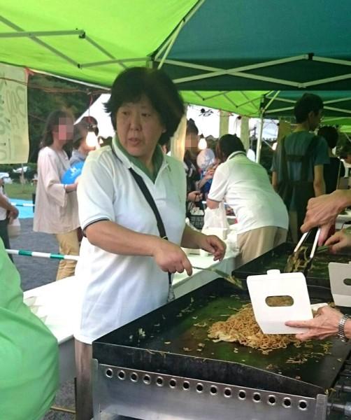 清住平自治会の夏祭り