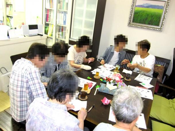折り紙講座 ~箸置きと器を作ろう~