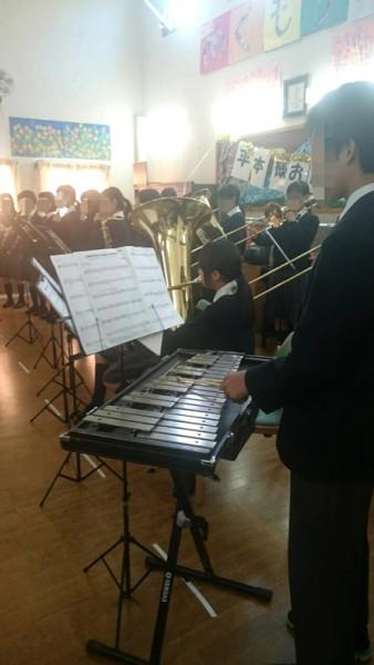 小山田中学生の吹奏楽部