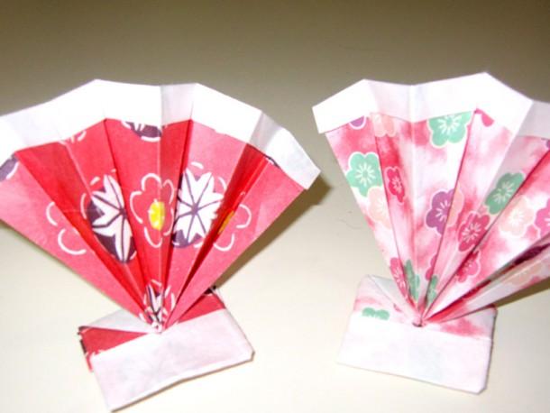 折り紙講座 ~扇を作ろう~