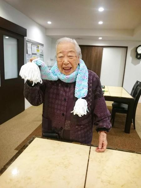 サービス付き高齢者向け住宅、清住の杜町田の朝食後の今日の風景